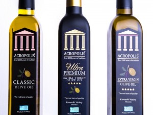ACROPOLIS 500ml 3 sort